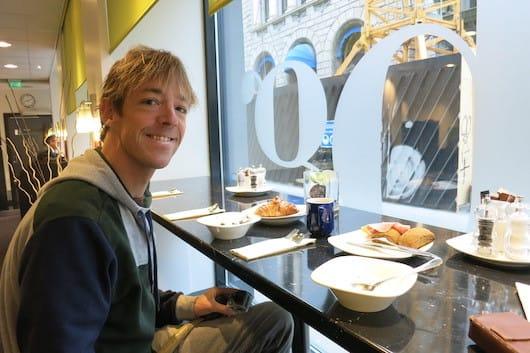 Breakfast at Park Inn Oslo