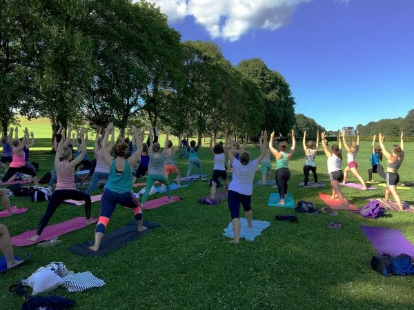 Yoga in Frogerparken Oslo