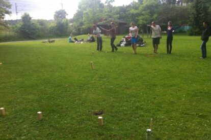 Kubb in the park Oslo