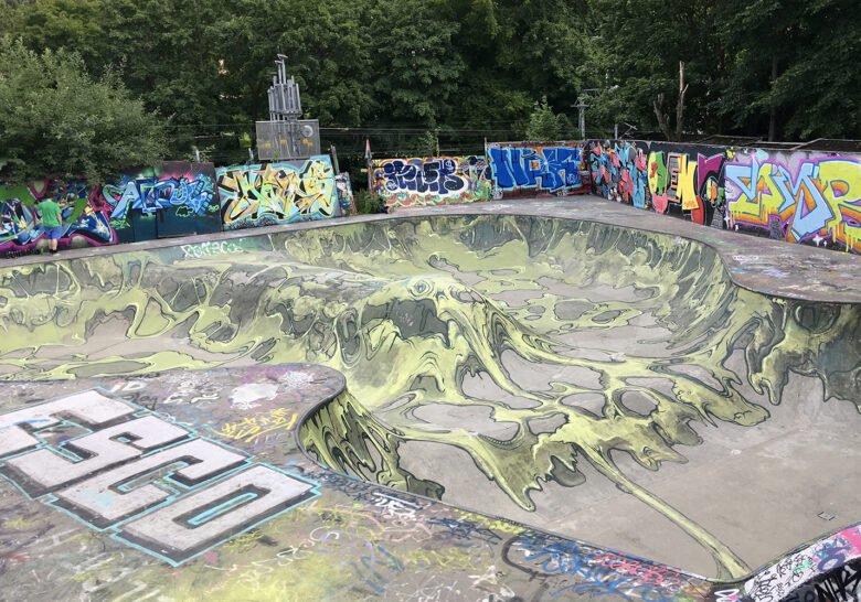 Gamlebyen Skatepark Oslo