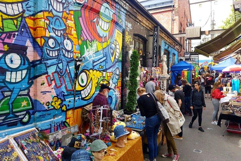 Sunday Market at Blå Oslo