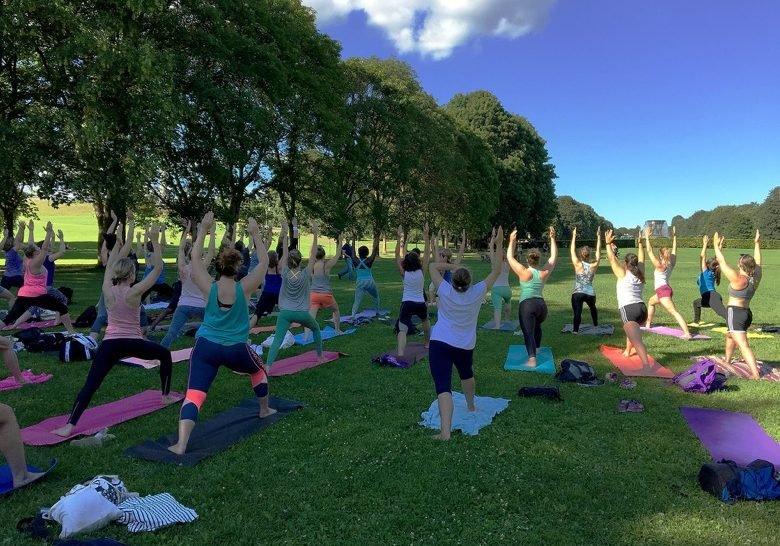 Yoga in Frogerparken Oslo