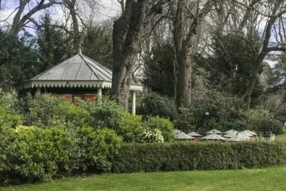 Beehives of the Luxembourg Gardens Paris