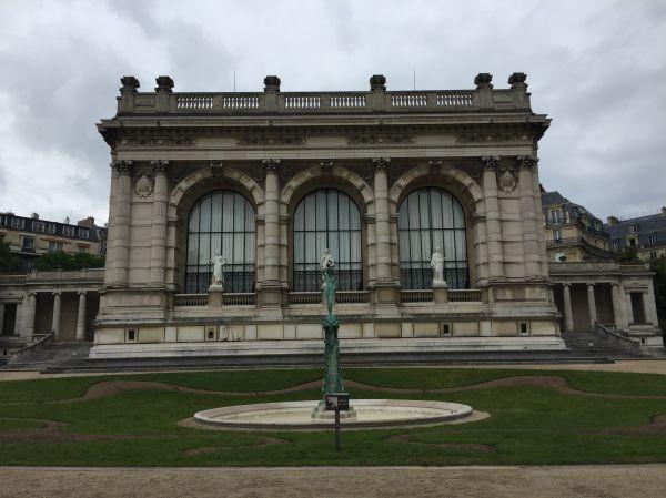 Gardens of Galliera Palace Paris