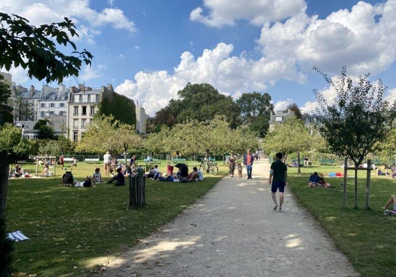Jardin Catherine-Labouré Paris