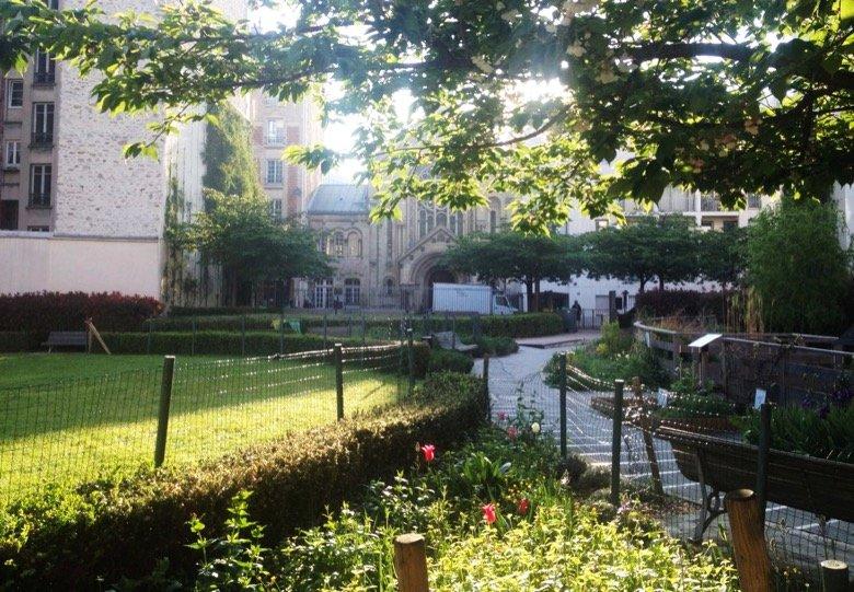 Jardin de la Folie (Titon) Paris