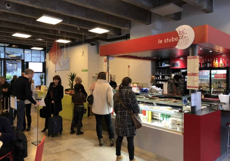 Kiosk Le Stube – German food in the heart of Paris