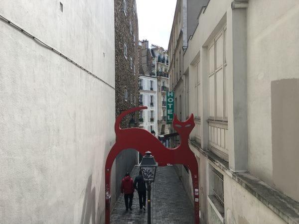 Le passage de la Voûte Paris