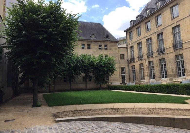 Mark Ashton garden Paris