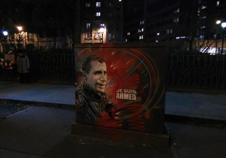 Memorial to Ahmed Paris