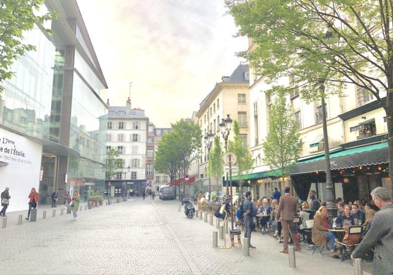 Place du Marche Saint Honore Paris