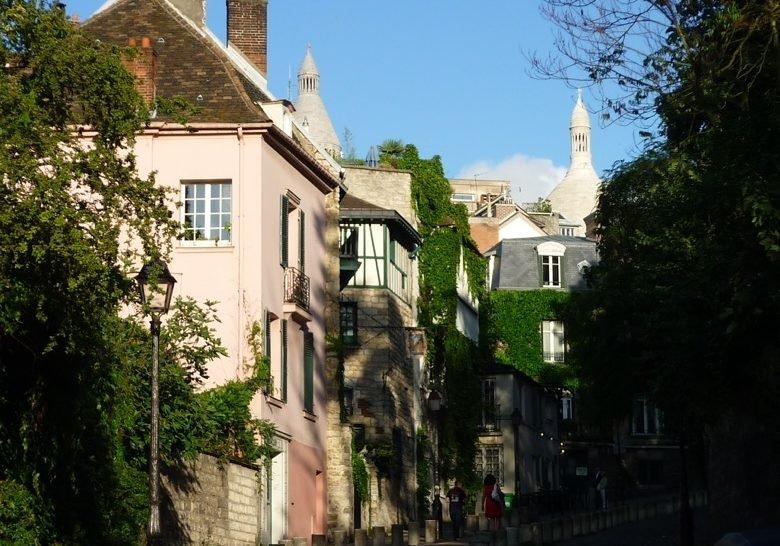 Rue Cortot Paris