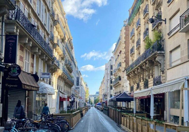 Rue du Montparnasse Paris