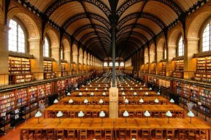St. Genevieve Library Paris