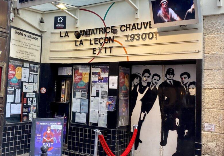 Théâtre de La Huchette Paris