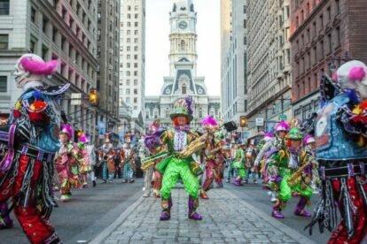 Mummers Day Parade Philadelphia
