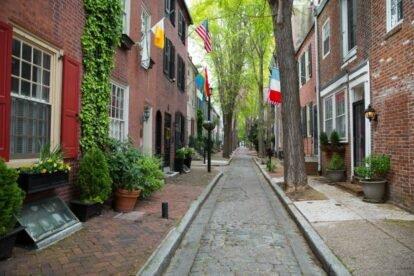 Manning & Quince Streets Philadelphia