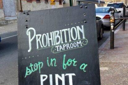Prohibition Tap Room Philadelphia