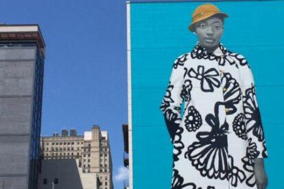 Amy Sherald's Mural Philadelphia
