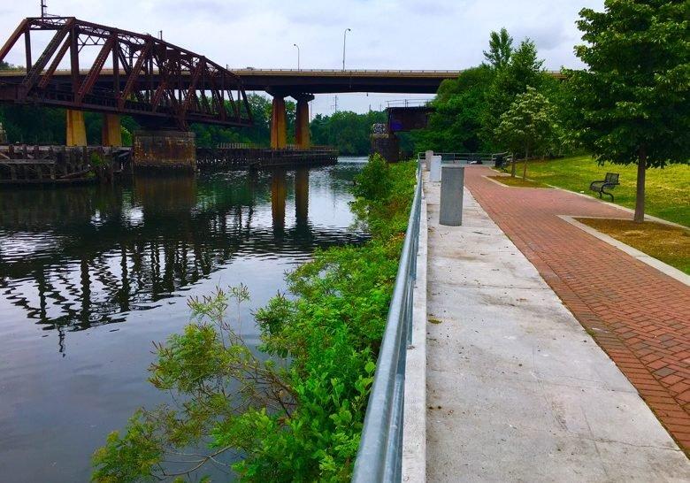 Grey's Ferry Crescent Trail Park Philadelphia