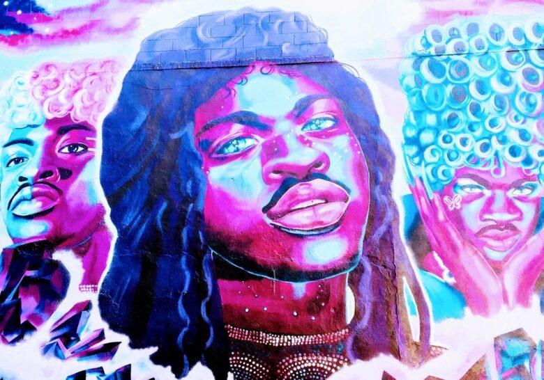Lil Nas X Mural Gayborhood Philadelphia