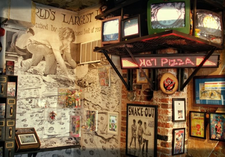 Pizza Brain – A real pizza museum!