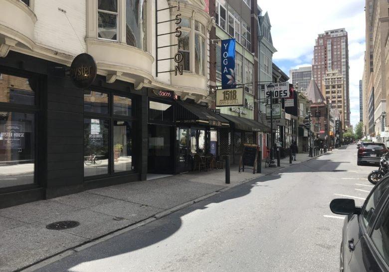 Sansom Street Restaurants Philadelphia