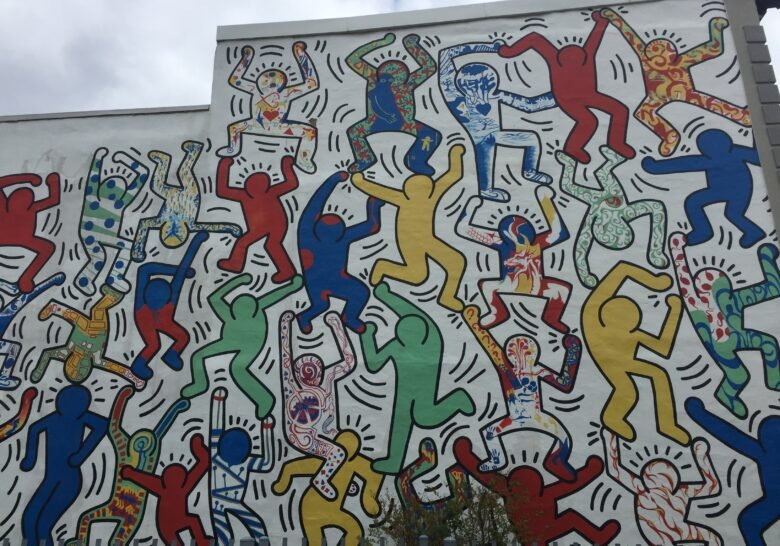 We the Youth – Keith Haring mural