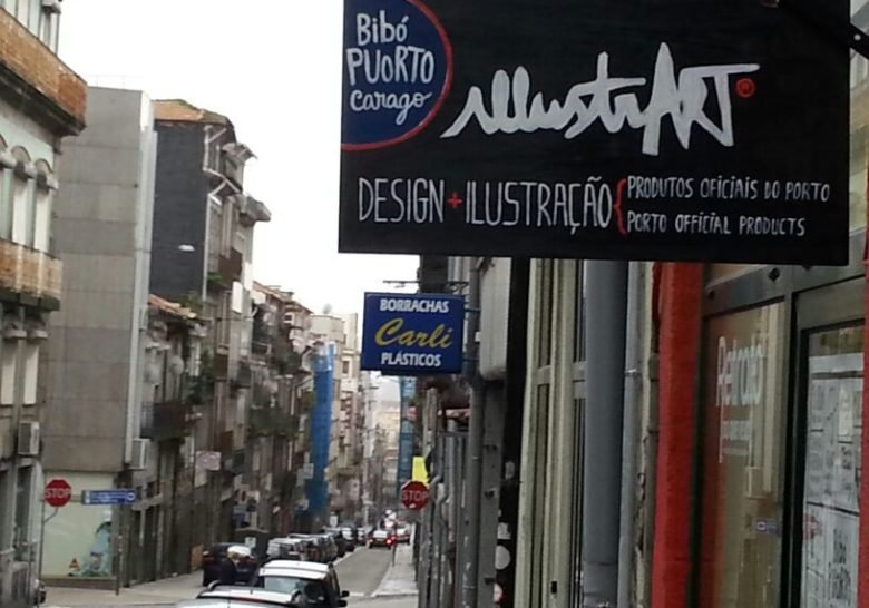 Rua do Almada – The old meets the new