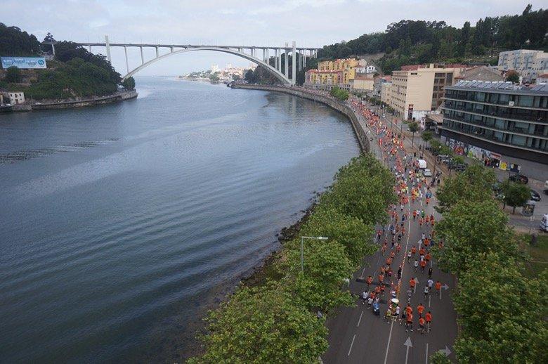 Running in Porto Porto
