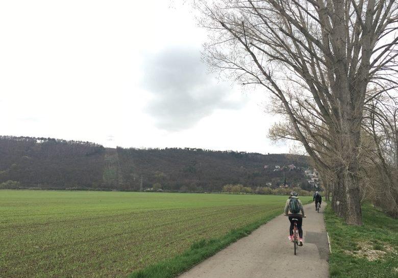 Cyklostezka A2 Prague