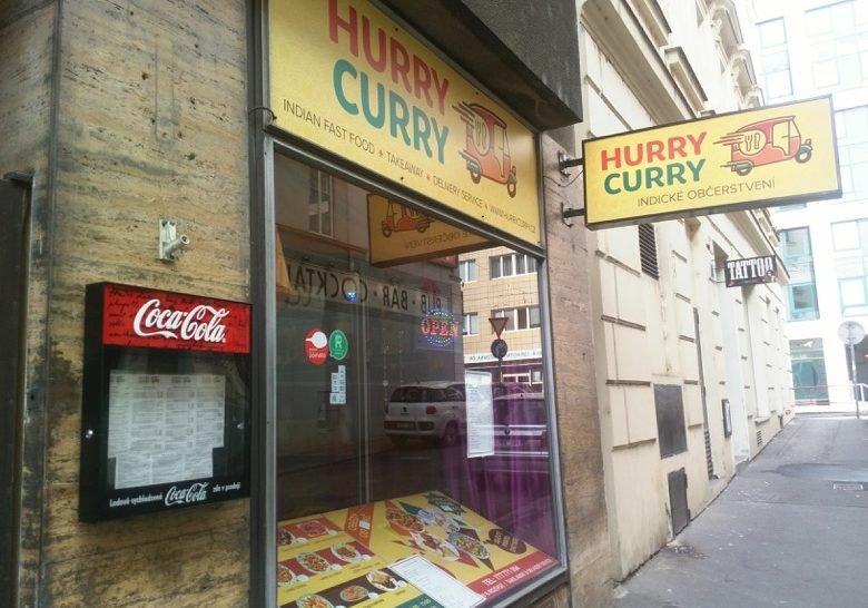 Hurry Curry Indian Restaurant Prague
