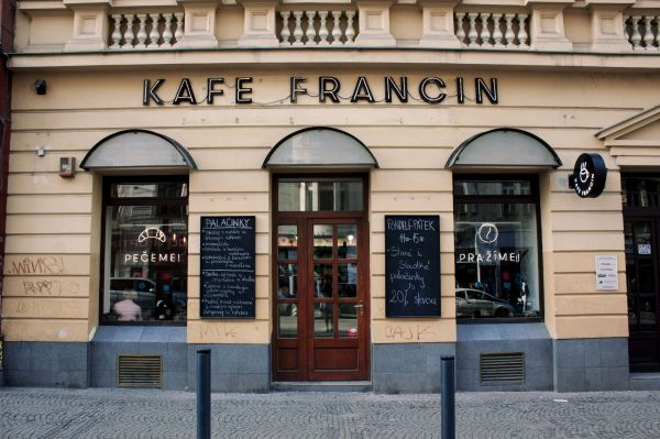 Kafe Francin Prague