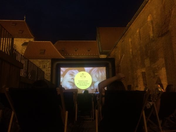 Letní Kino Anežský Klášter Prague