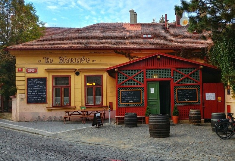 Na Slamníku – 400-year-old Czech pub
