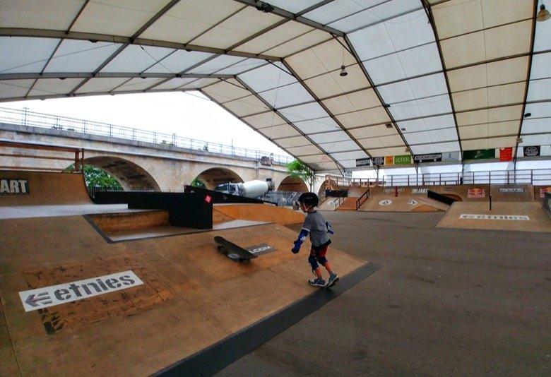 Skatepark Štvanice Prague
