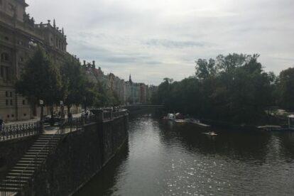Smetanovo Nábřeží Prague