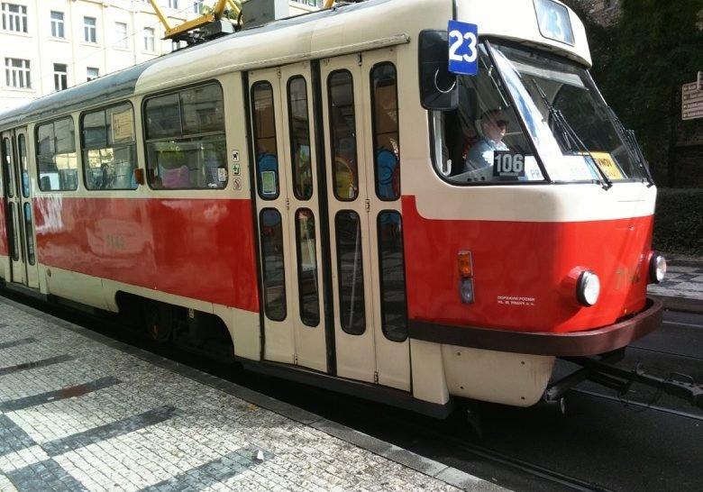 Tram 23 Prague