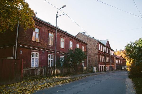 Lapu Street Riga