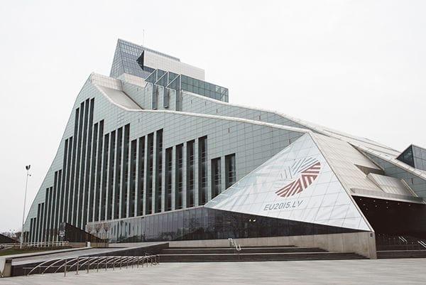 Latvijas Nacionālā bibliotēka Riga