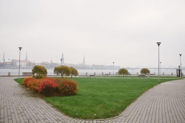 Saules akmens garden Riga