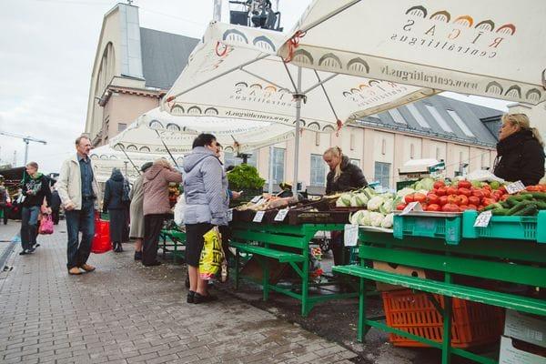 The Central Market Riga