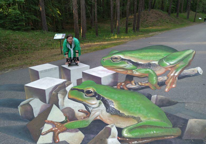 3D Street Paintings Riga