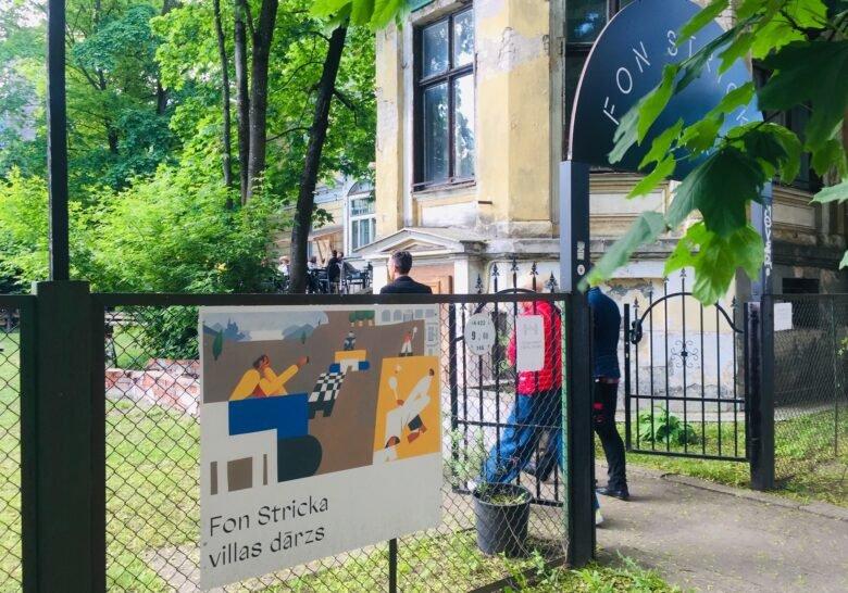 K.K. fon Stricka Villa Riga