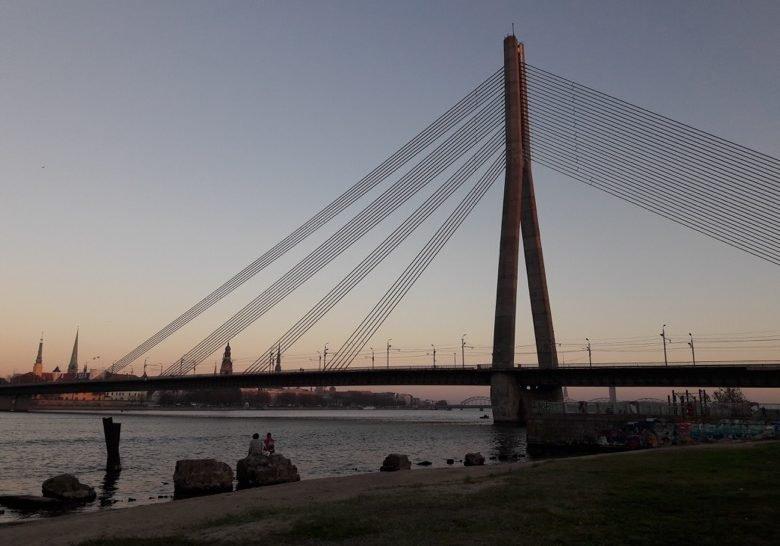 Ķīpsala River Beach Riga