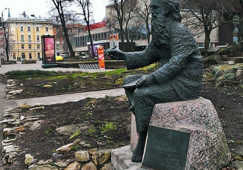 Monument for Irbīte Riga