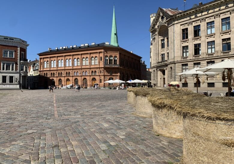 Riga Dome and Dome square Riga