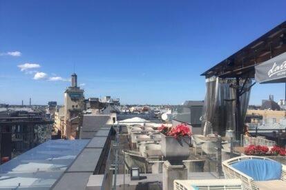 Roof Terrace on the 8th Floor Riga