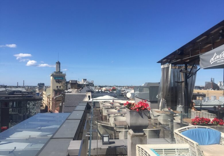 Roof Terrace on the 8th Floor Riga