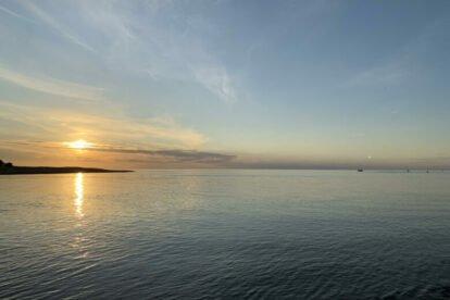 Sea Island in the City Riga